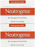 Neutrogena Face Cleansing Bar - Acne Prone - 3.5 oz - 2 pk