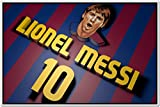 Messi Posters - Lionel Messi - FC Barcelona Sports Poster - Messi Posters for room -Messi Posters Barcelona - Motivational Inspirational football Quotes posters for room - 10