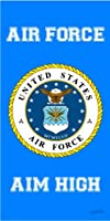 Air Force United States Armed Forces Military Beach Towel