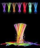 ケミカルライト折って光る100本セットケミカルボール作れるジョイントセット(ブルー)