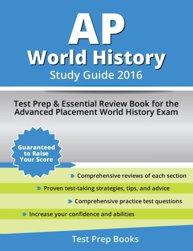 AP World History Study Guide 2016: Test Prep & Essential Review Book for the Advanced Placement World History Exam (College Board Ap English compare prices)