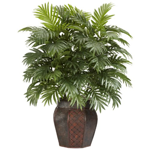 Artificial Tree Areca Palm Fake Plant Silk Decor Floor