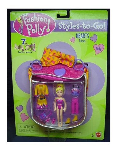 Fashion Polly Pocket STYLES TO GO Hearts Purse - Buy Fashion Polly Pocket STYLES TO GO Hearts Purse - Purchase Fashion Polly Pocket STYLES TO GO Hearts Purse (Polly Pocket, Toys & Games,Categories,Dolls,Playsets,Fashion Doll Playsets)