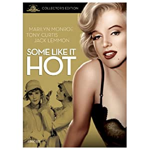 Some Like It Hot starring Tony Curtis (DVD).