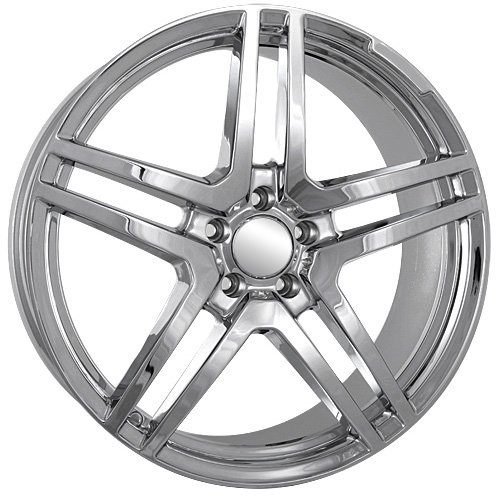 51EP2dygV8L 20 Inch Mercedes Benz 2011 2012 AMG Wheels Rims Chrome (set of