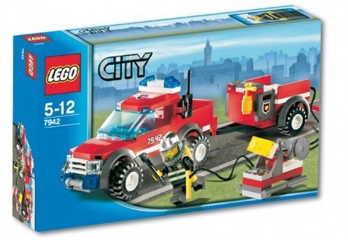LEGO City 7942: Off-Road Fire Rescue