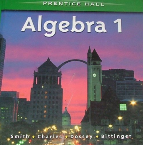 Prentice Hall Mathematics: Algebra 1 by McDougal Littell