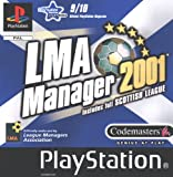 LMA Manager 2001 - Includes Full Scottish League (PS)