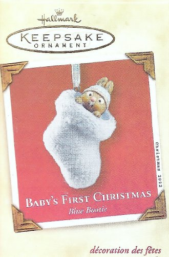 "Hallmark ""Baby's First Christmas"" Keepsake Ornament issued 2002 - 1"