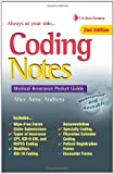 img - for Coding Notes: Medical Insurance Pocket Guide (Davis's Notes) book / textbook / text book