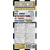 Streetwise Transitwise New York City Subway Map - Manhattan Subway Map with New Jersey, Train, LIRR, Amtrak - NYC Metro Transit Map (Streetwise (Streetwise Maps))