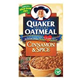 Quaker Instant Oatmeal Cinnamon Spice 404g