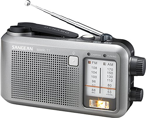 Review Of Sangean MMR-77 Emergency AM / FM Portable Radio