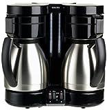 Krups 324-42 DuoThek 10-Cup Dual Thermal Coffeemaker, Stainless Steel