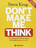 img - for Don't make me think. Un approccio di buon senso all'usabilit  web e mobile book / textbook / text book