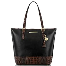 Asher Tote<br>Black Tuscan