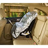 Mommy's Helper Car Seat Sun Shade, 2 Count (2 PACK)