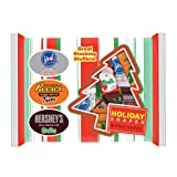 Hersheys Christmas Assortment Bag (Milk Chocolate Santas, Reese Trees, York Snowflake), 23.1-Ounce