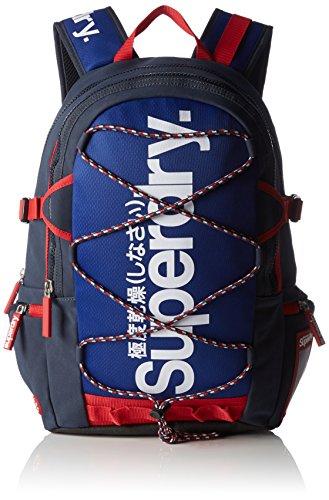 Superdry Trainer Tarp Backpack Zaino Casual, Poliestere, Blu, 50 cm