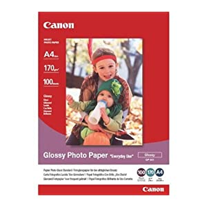 Canon - Glossy Photo Paper'Everyday Use' GP501 - papier photo - A4 - 100 feuilles