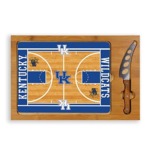 NCAA Kentucky Wildcats Basketball Court Icon Cheese Set (3-Piece)