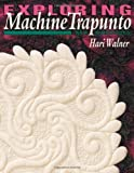 img - for Exploring Machine Trapunto: New Dimensions by Hari Walner (1999-11-01) book / textbook / text book