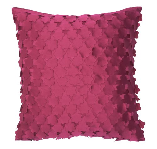 Modern Living Blossom Laser Cut Flowers Pillow, 16 by 16Inch Picture