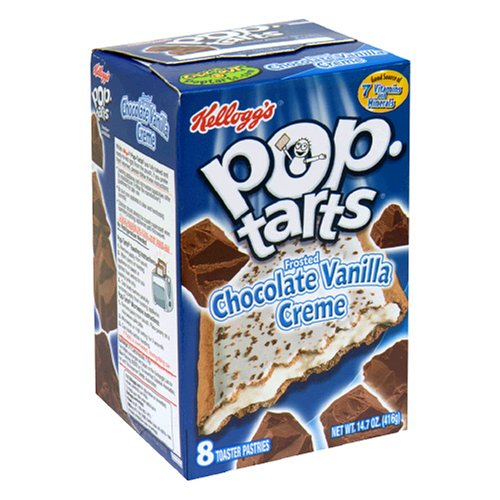 Buy Kellogg's Pop-Tarts Chocolate Vanilla Creme, 8-Count Boxes (Pack of 12) (Pop-Tarts, Health & Personal Care, Products, Food & Snacks, Breakfast Foods, Toaster Pastries)