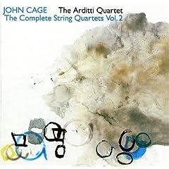 "Cage: String Quartets, Volume 2: String Quartet In 4 Parts; ""Four"""