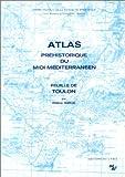 echange, troc Barge - Atlas préhistoire. midi méditerranée feuille de Toulon