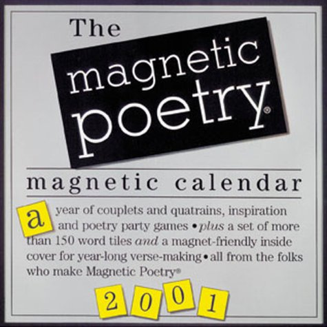 The Magnetic Poetry Magnetic Calendar with Magnetic Letters