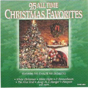 25 all time christmas favorites audio cd starlite pop orchestra