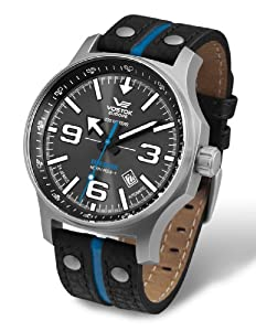 Vostok-Europe Men's NH35A/5655195 Japanese Automatic Quick Set Date Watch