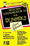 Netscape Communicator 5 for Dummies Q...