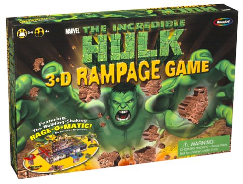 Buy The Incredible Hulk 3-D Rampage Game