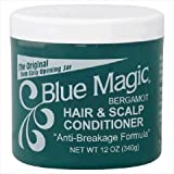 Blue Magic Conditioner, Hair & Scalp, Bergamot