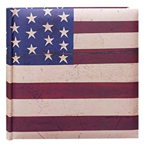"4""x6"" 2-up 200 Photo Warren Kimble Flag Photo Album - Warren Kimble Flag"