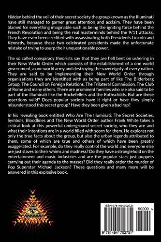 Libro Who Are the Illuminati? the Secret Societies ...  Libro Who Are t...