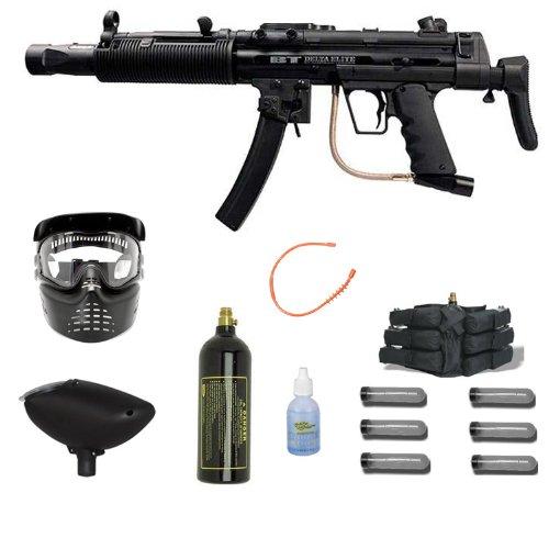 Bt Delta Elite Paintball Gun Mega Gxg 6+1 Package
