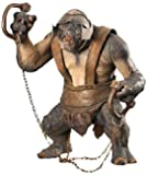 """Lord of the Rings The Two Towers Electronic ARMORED TROLL 10"""" Action Figure (2003 ToyBiz)"""