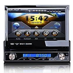 See 7 inch 1 Din HD Touchscreen Car DVD/USB/SD Player 3G GPS Navigation IPOD TV Autoradio ,800*480 Details
