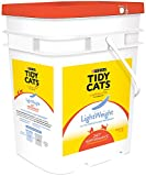 Tidy Cats Cat Litter, Clumping, 24/7 Performance, LightWeight, 17-Pound Pail Pack of 1