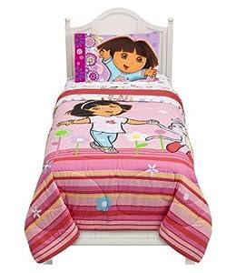 Dora Flowers are Free Twin Comforter