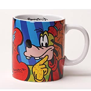 Disney By Britto - Goofy Mug