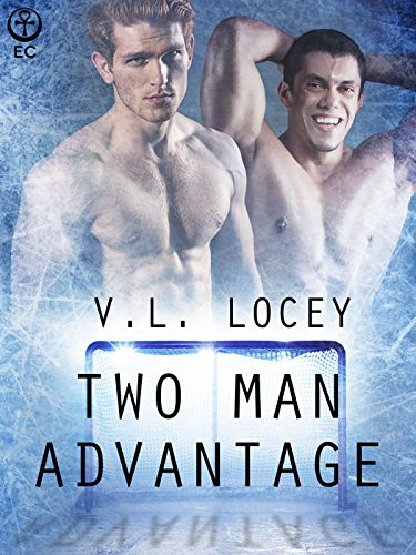 Two Man Advantage, by V.L. Locey