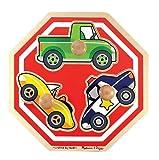 Melissa & Doug Stop Sign (Vehicles) Jumbo Knob Puzzle