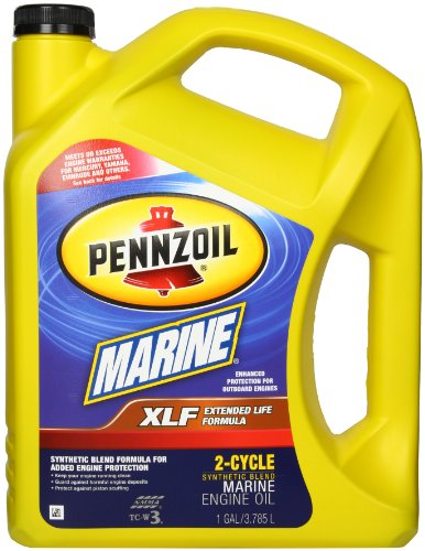 Pennzoil 550022771 XLF Marine Synthetic Blend Engine Oil (TC-W3) - 1 Gallon (Outboard 2 Cycle Oil compare prices)