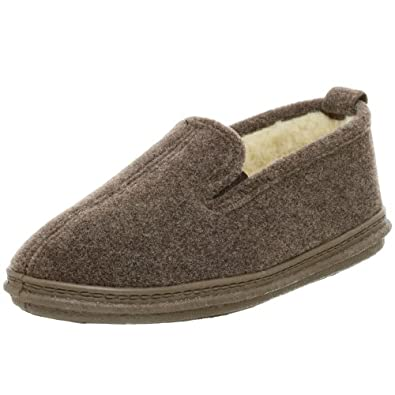 Slippers International Men's 400P Slipper,Brown,7 M