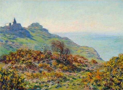 Oil Painting 'The Church At Varengeville, The Gorge Of Les Moutiers, 1882 By Claude Monet' 8 x 11 inch / 20 x 28 cm , on High Definition HD canvas prints, Home Office, Home Theater, Study Room decor (Space Marine Apothecary compare prices)