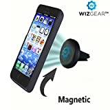 Car Mount, WizGear(TM) Universal Air Vent Magnetic Car Mount Holder, for Cell Phones and Mini Tablets with Fast Swift-SnapTM Technology, Magnetic Cell Phone Mount